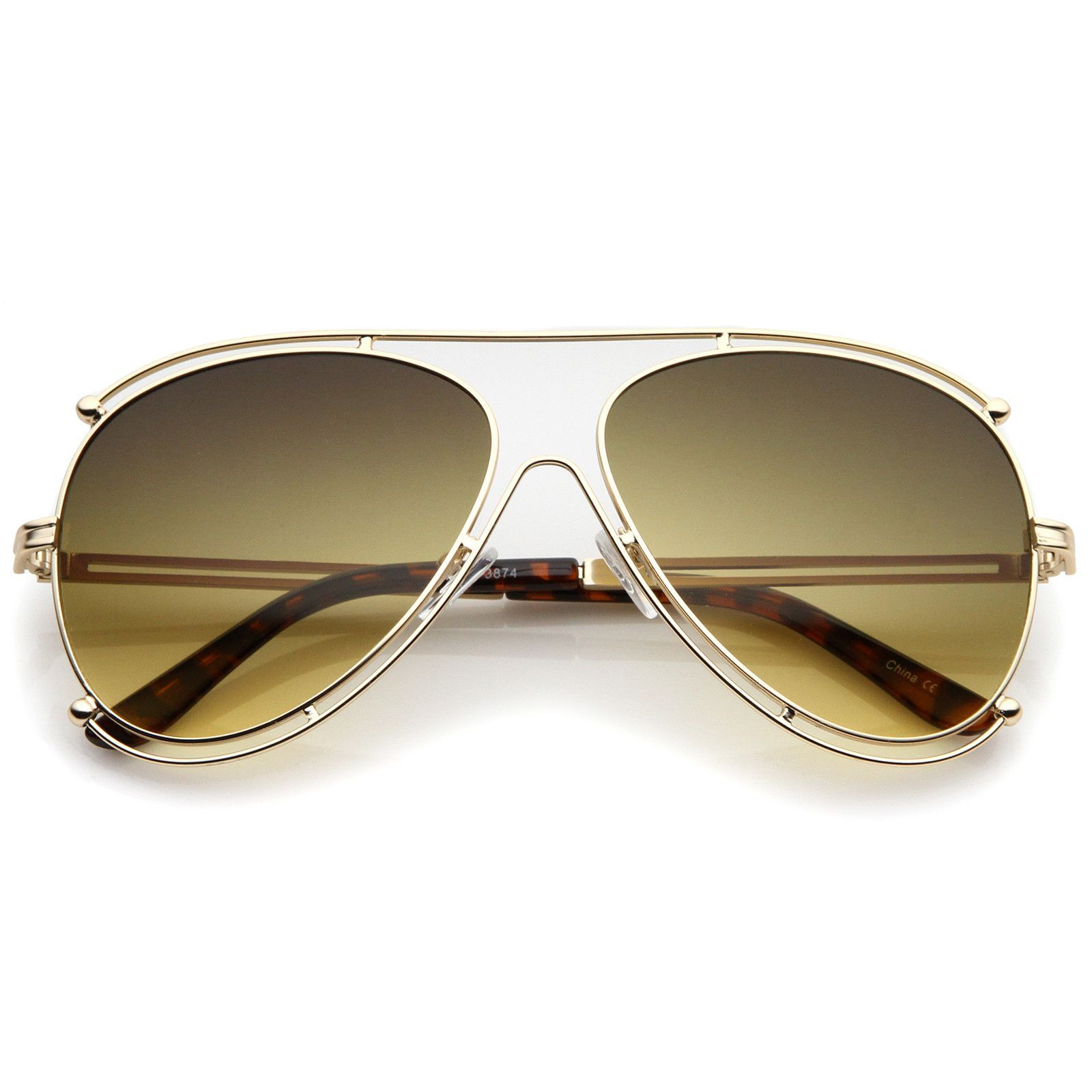 7aa6a90b5fdb2 New Vintage Matsuda 10611 Matte Gold Side Cups 1990 s Made in Japan  Sunglasses