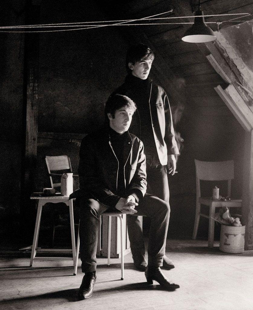 Astrid Kirchherr, John Lennon & George Harrison ~ 1962 ...