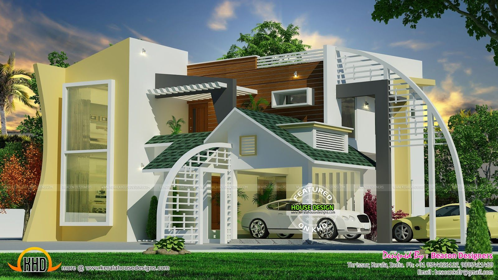 Simple modern house design moderncontemporaryhouse storey two plans also stylish for your living rh pinterest