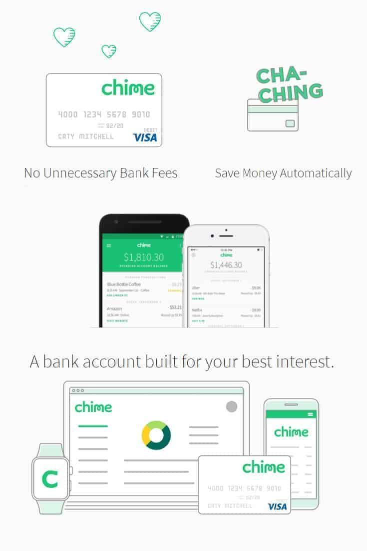 Chime bank helps you to save automatically smart