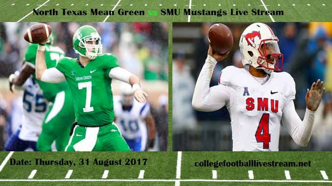 North Texas Mean Green Vs Smu Mustangs Live Stream Teams Mean Green Vs Mustangs Time 7 00 Pm Et Week 2 Date