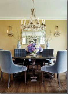 Dining Room With Chandelier Captivating David Iatesta Scalloped Tole Chandelier Sale  Google Search Inspiration