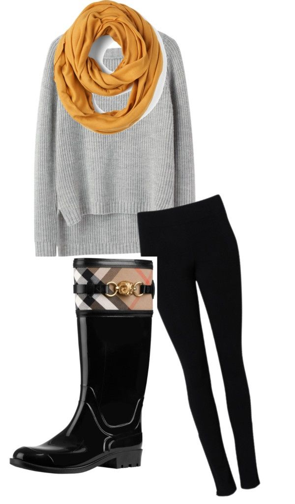 #Day #Outfit #Rainy #Rainy Day Outfit teacher rainy day outfit!        「雨の日の服装!」 by taylor-brown2 by Polyvore #rainydayoutfitforwork