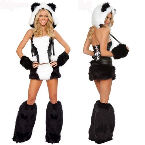 high quality costumes sexy panda - High Quality Womens Halloween Costumes