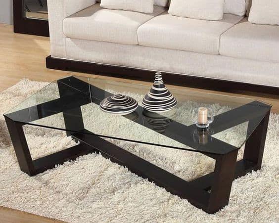 39 Elegant Glass Coffee Tables For A Transparent Living Room Homesthetics Inspiring Ideas For Your Home Coffee Table Coffee Table Design Metal Furniture