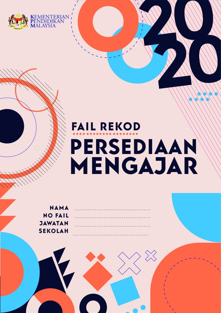 Cover Fail Rekod Perancangan Mengajar 2020 Blog Bergambar Teaching Education Cover