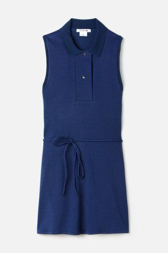 Sleeveless #PoloDress from the #FashionShow