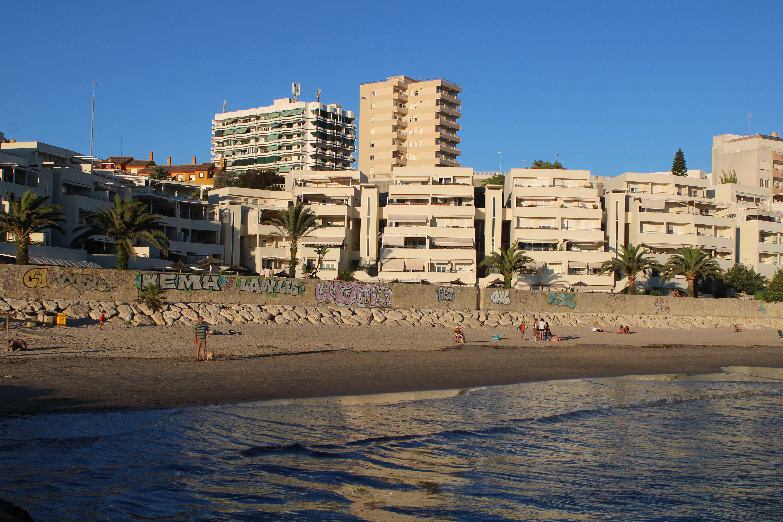 panorámica de la playa de fuentebravía
