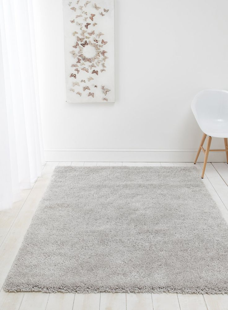 Cotswold Gy Rug In Light Grey