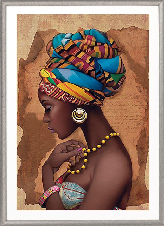 African Girl Art Decor African Queen African Art African