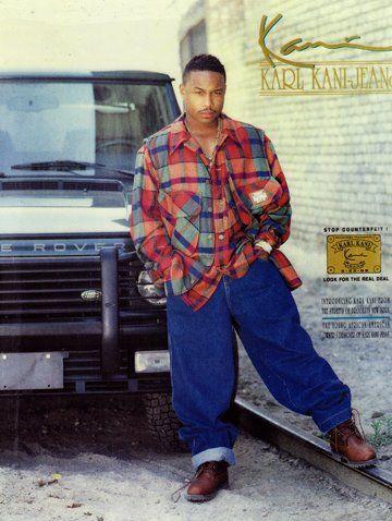 Karl Kani Jeans | I am hip hop | Fashion, 90s fashion, Hip
