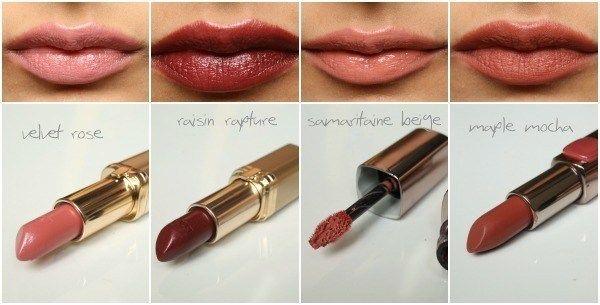 Loreal Lipstick Colors Chart Mersnoforum