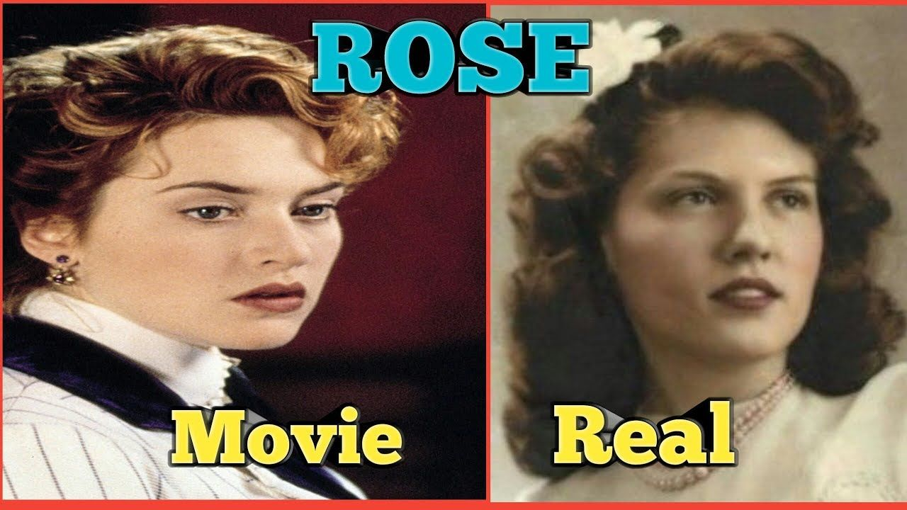 real vs movie rose real life titanic passengers and crew