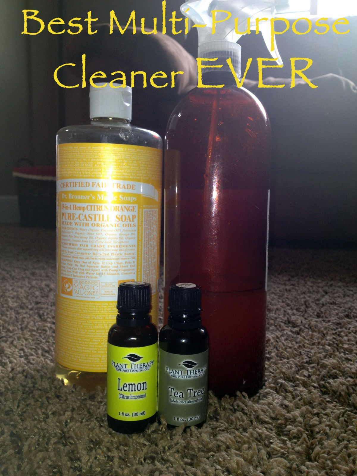 Best multipurpose cleaner ever essential oils cleaning