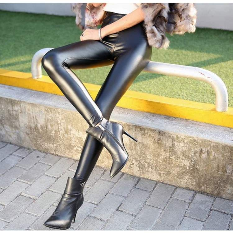 7b76f22f9e080 Thick Leggings in 2019 | Leather pants | Leggings are not pants ...