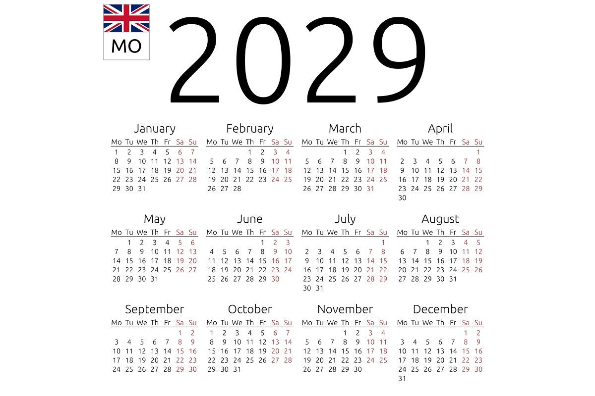 Calendar 2024 English Monday In 2020 Calendar Calendar