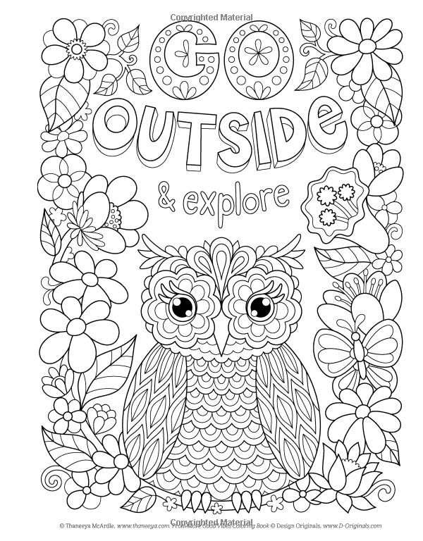 Amazon Com More Good Vibes Coloring Book Coloring Is Fun