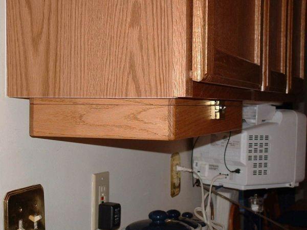 creative kitchen storage idea under cabinet spice rack diy rh pinterest com DIY Magnetic Spice Rack under cabinet spice rack that pull down plans