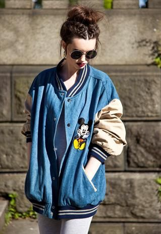 523f78a1 Vintage Disney Mickey Mouse jacket £45 | PASSION | Mickey mouse ...