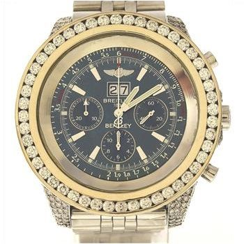 BREITLING 11.30ctw Diamond Swiss Watch http://www.propertyroom.com ...