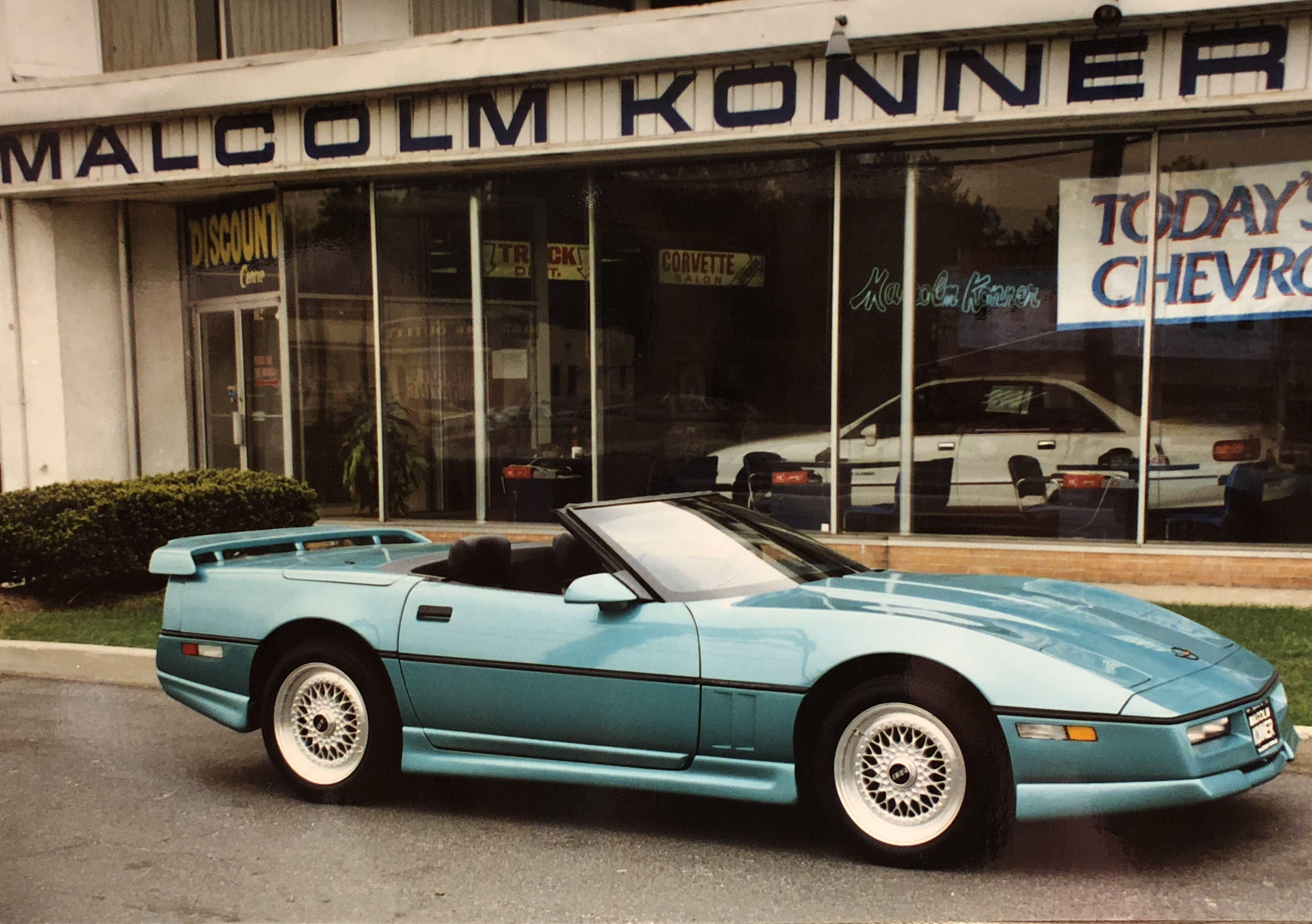 Malcolm Konner Chevrolet Corvette 1990 Greenwood Pkg
