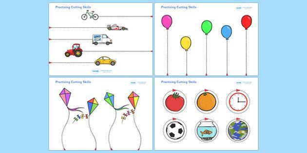 Pin On Lisa S Teaching Scissor skills preschool workbook