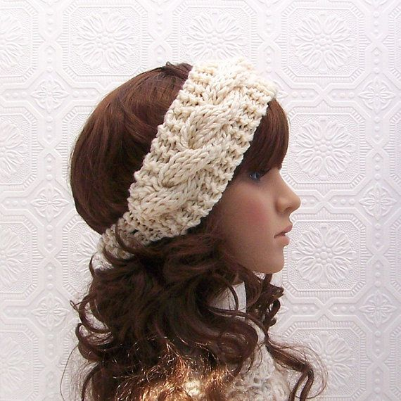 Hand knit headband   Knitting/crochet ideas   Pinterest   Tejido ...