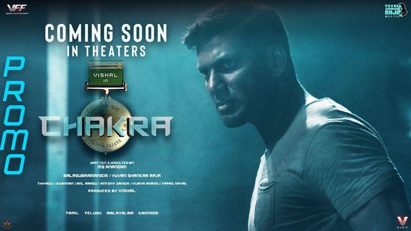 CHAKRA – TV Promo | Vishal | M.S. Anandan | Yuvan Shankar Raja | VFF