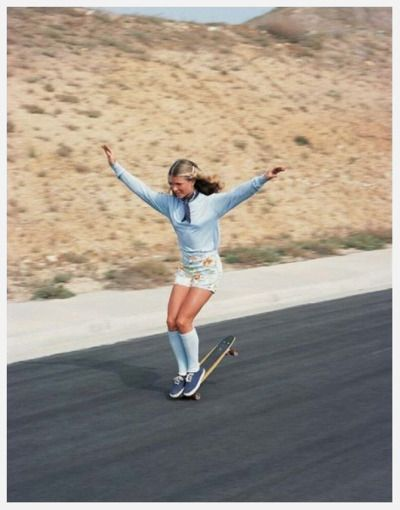 be a bad-ass skate chick #Fashercise
