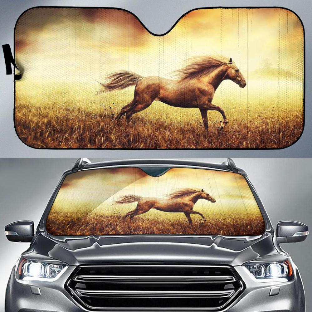 Auto Sun Shades Horse 11 Car Sun Shade Horse Lover Horses