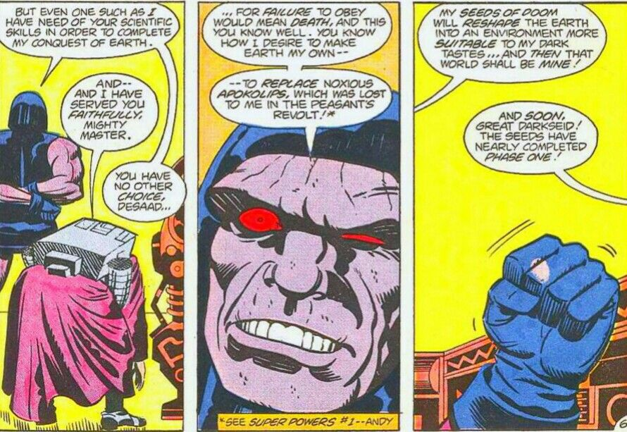 Darkseid and Desaad