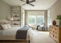 Wall color: Benjamin Moore Plymouth Rock 1543. Richardson Architects.