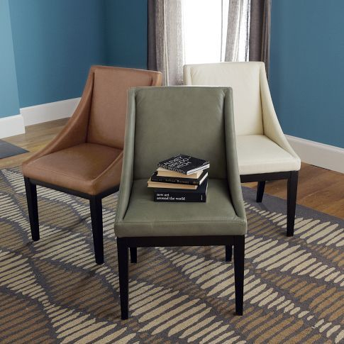 Scoop Back Dining Chair   West elm dining chairs, Chair ...