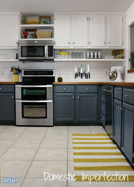 white kitchen cabinet makeover fabulous kitchen makeover with blue painted cabinets and 28639