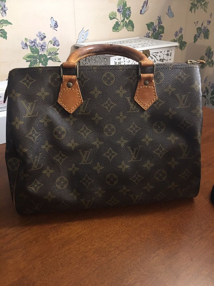 Authentic Vintage Louis Vuitton Handbag Speedy 30 Monogram  fashion   clothing  shoes  accessories  womensbagshandbags (ebay link) 505eeb2c41a