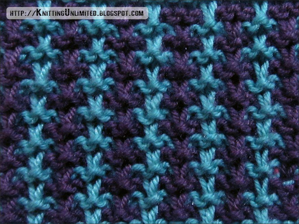 Slip Stitch Patterns: Simple but Beautiful - Knitting Unlimited ...