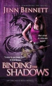Review: Binding the Shadows by Jenn Bennett - Fans of the Arcadia Bell series are in for a treat. This book is engaging from start to finish. I didn't want to put it down and immediately wanted to start the next book when I finished. (Click image for full review)