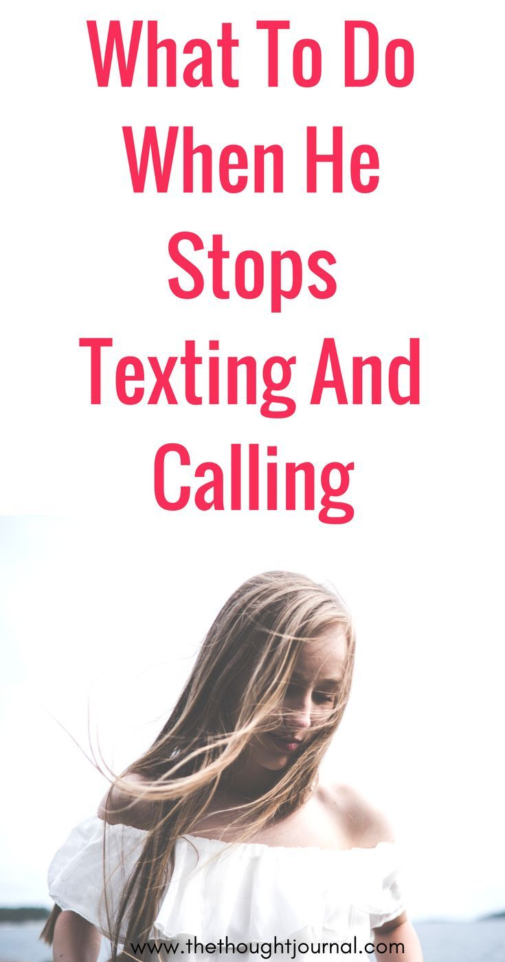Dating advice + calling/texting