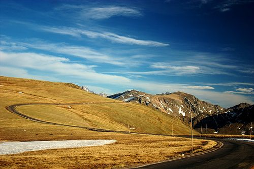 Trail Ridge Road   Rocky Mountain Nat. Park  One of the most amazing roads you will ever drive.