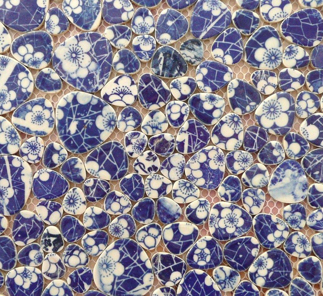 mosaïque carrelage galets japonais | Mosaïque | Pinterest ...