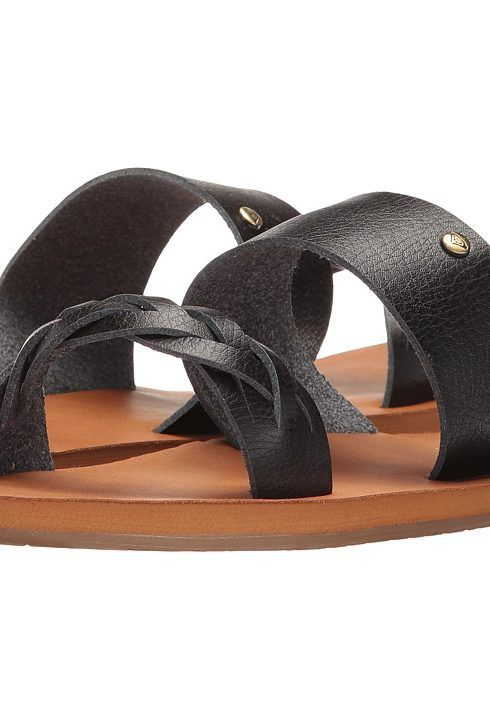 Find this Pin and more on Cool Clothes. Roxy Tess (Black) Women's Sandals