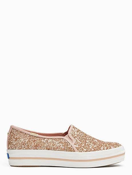 f936d0fae17c Keds X Kate Spade New York Triple Decker Glitter Sneakers