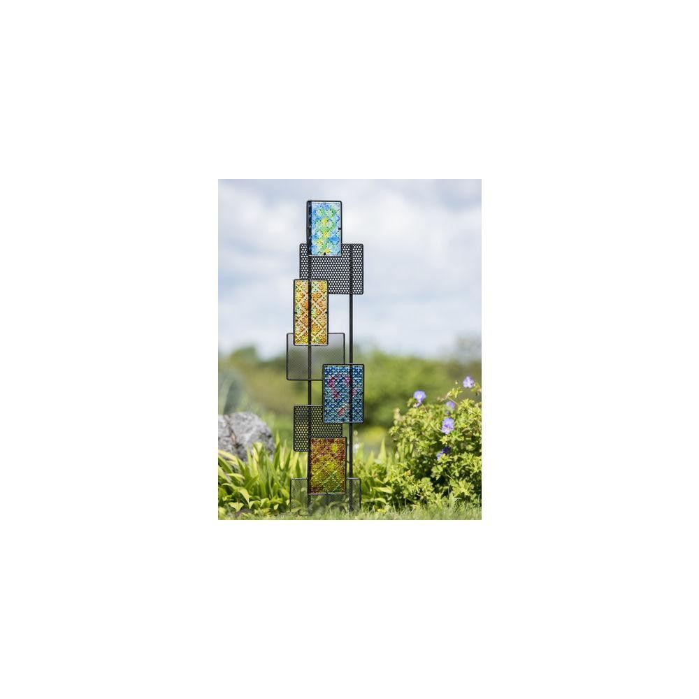Glass Quilt Garden Panel Rectangles Gardener S Supply Company