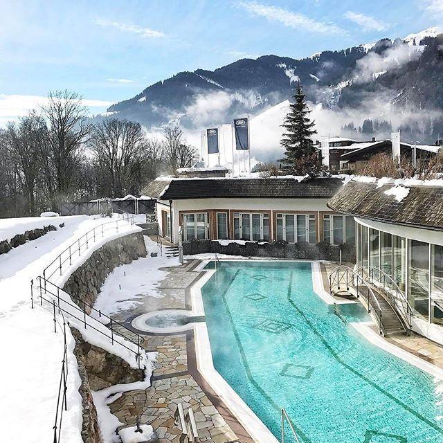Grand Tirolia Golf Ski Resort Kitzbuhel Spa In The Snow Pamina Marie Beautiful Hotels Winter Travel Beautiful Places