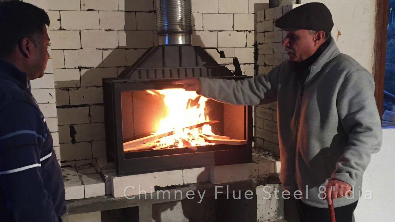 Installing Liseo L9 Fireplace In Kasauli Himachal Pradesh India