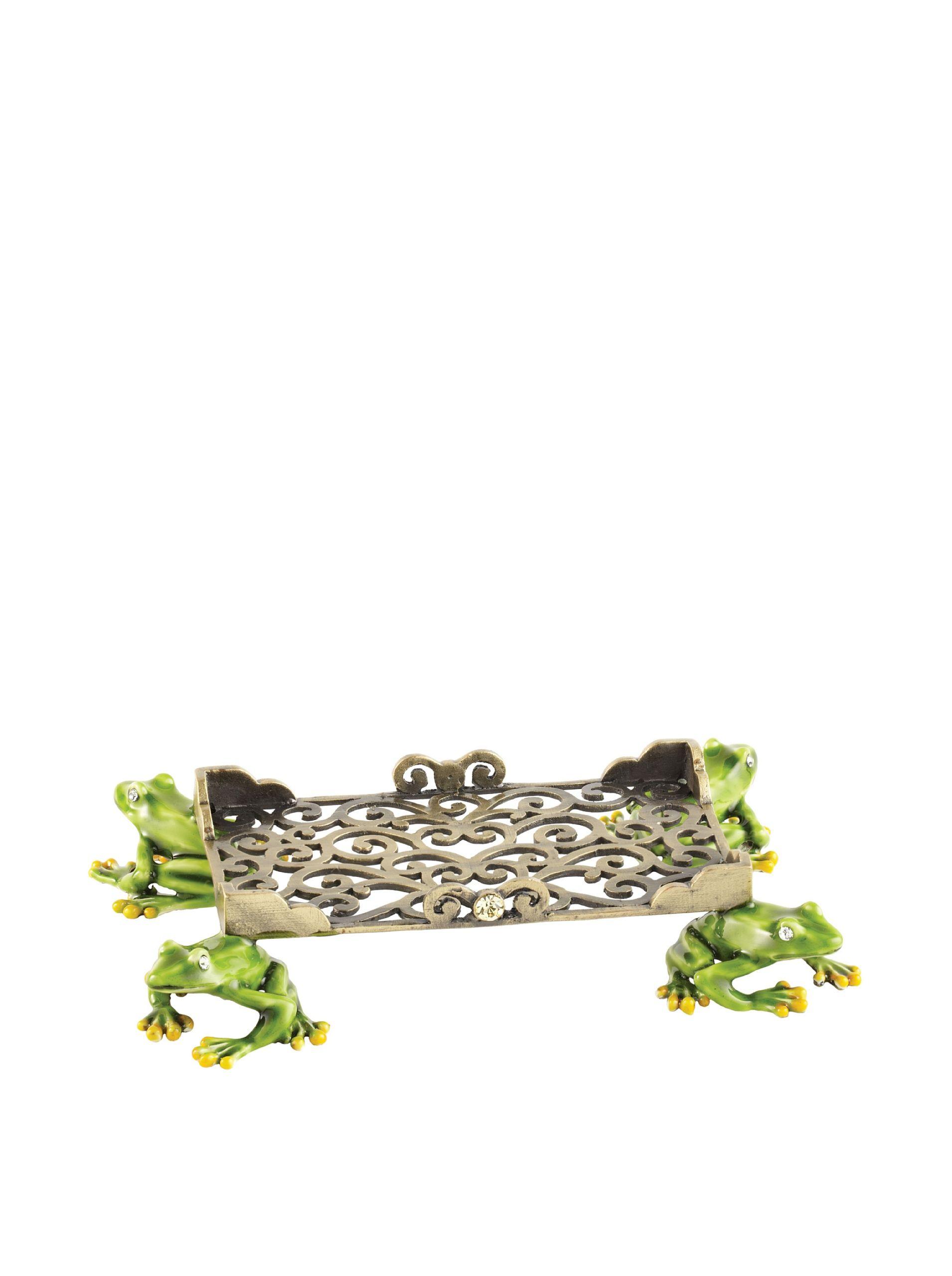 Olivia riegel swarovski encrusted frog business card holder cast olivia riegel swarovski encrusted frog business card holder cast pewter with intricate hand enameling and colourmoves