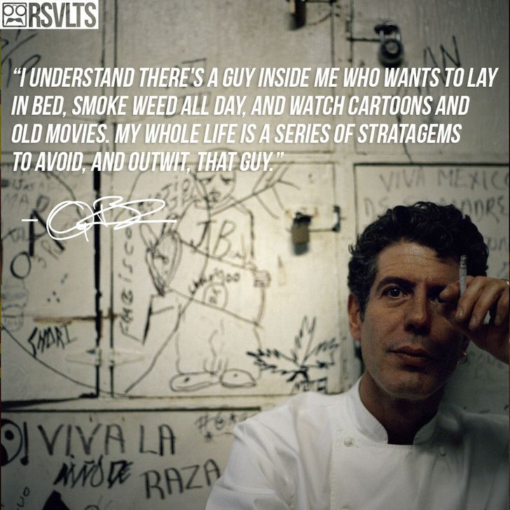 9cc605f08e3 Anthony Bourdain being super relatable - Imgur