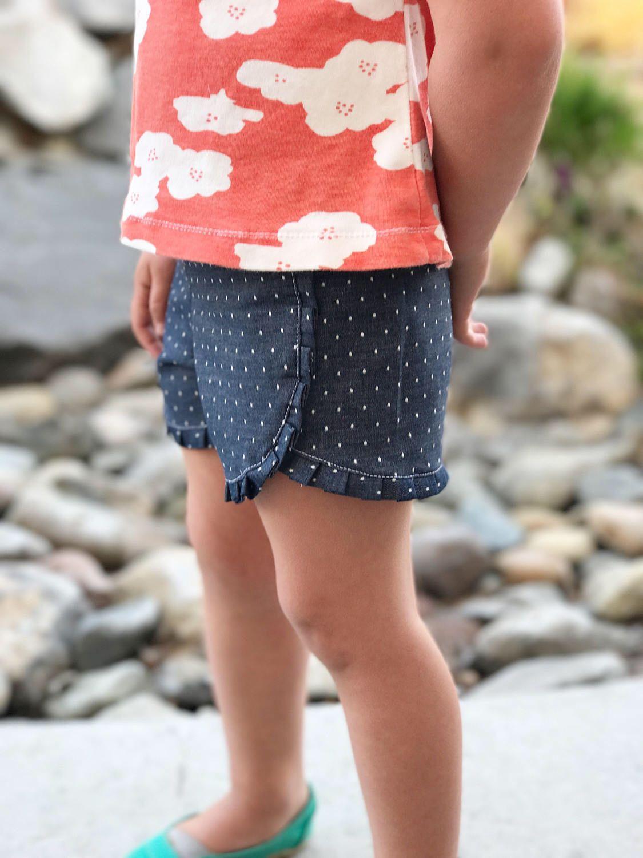Triple Playtime Shorts Sewing Pattern PDF, Shorts Pattern for Girl ...