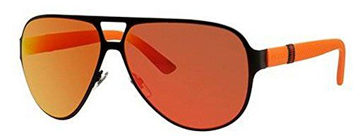 59096866ec4 Gucci 2252 S Sunglasses Black Orange   Red Mirror Gucci