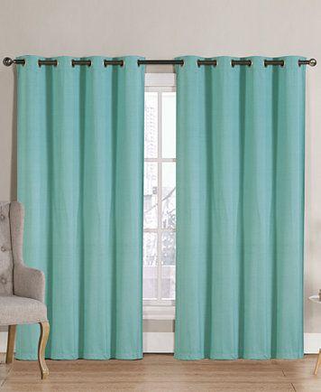 Victoria Clics Neil Blackout Grommet 52 X 90 Curtain Panel Macys
